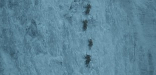 Escalada en hielo en la serie Games of Thrones
